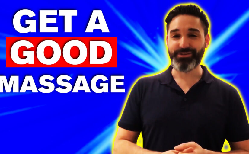 BPS #040: How To Get A Good Massage When You Have Back Pain…