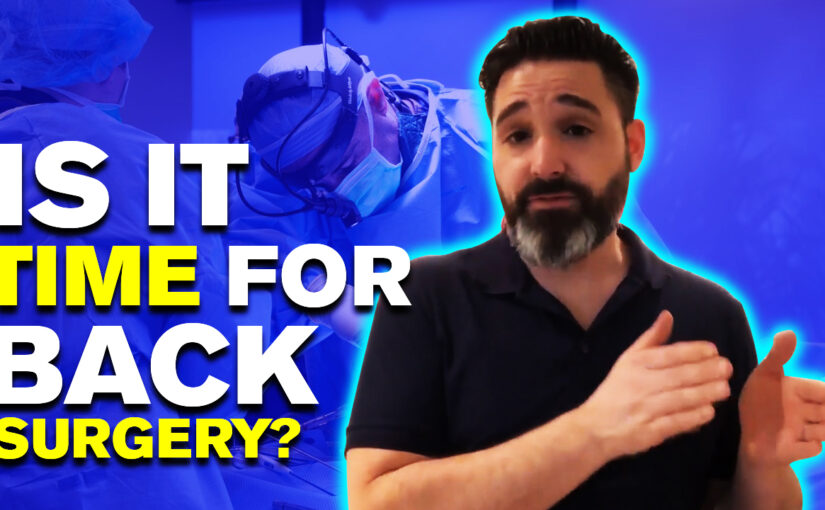 BPS #045: Is It Time for Back Surgery?